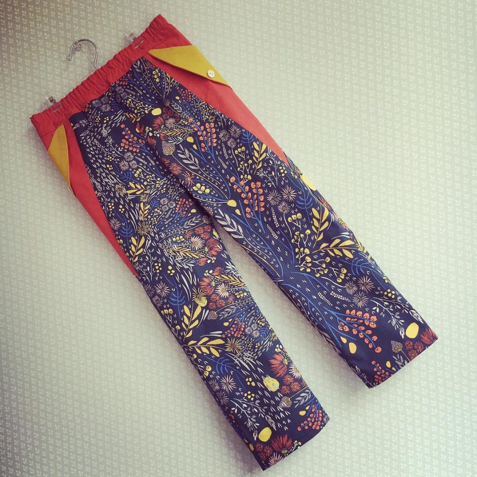 A 2nd pair of summer pants is ready! What dohellip