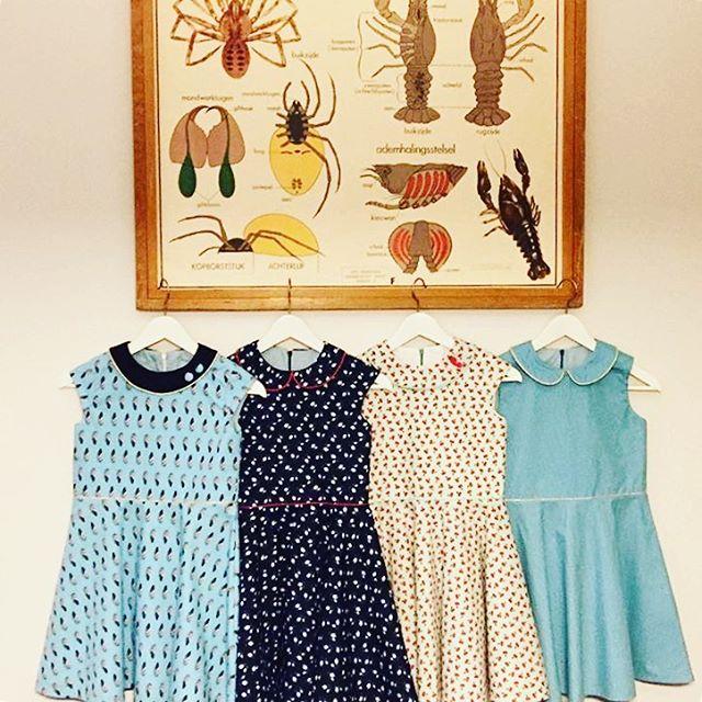 4 Ileana dresses in a row by barbarabaert ileanadress