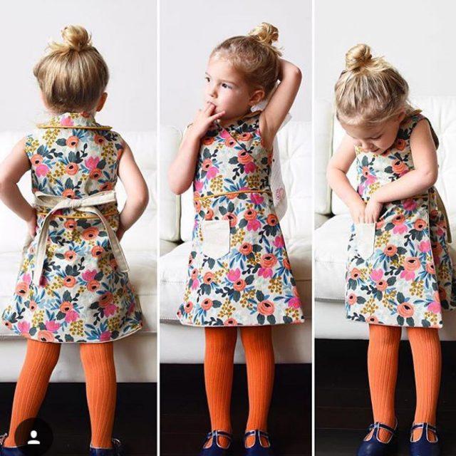 Cana dress get any cuter than this? frederiquedress by kneesocksandgoldilockshellip