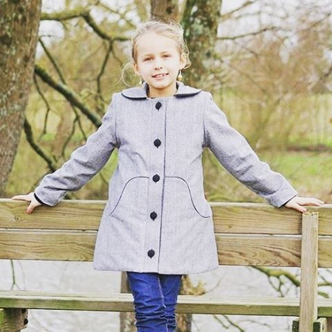 Such a pretty Louisa coat by aupaysdesbulles ! When usinghellip