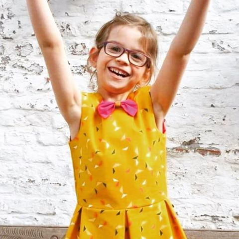 This cute girl celebrated her Bday in her Judith dresshellip
