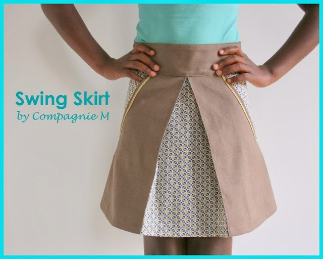 Swing Skirt Pattern 25