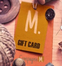 Compagnie-M Gift card - voucher