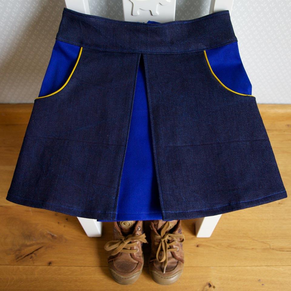 Swing Skirt Pattern 118