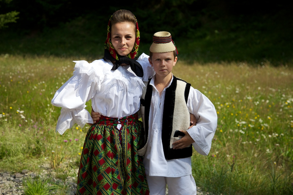 Traditional dress in Maramures