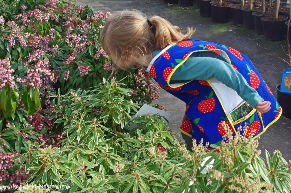 gardening-apron-sniffing