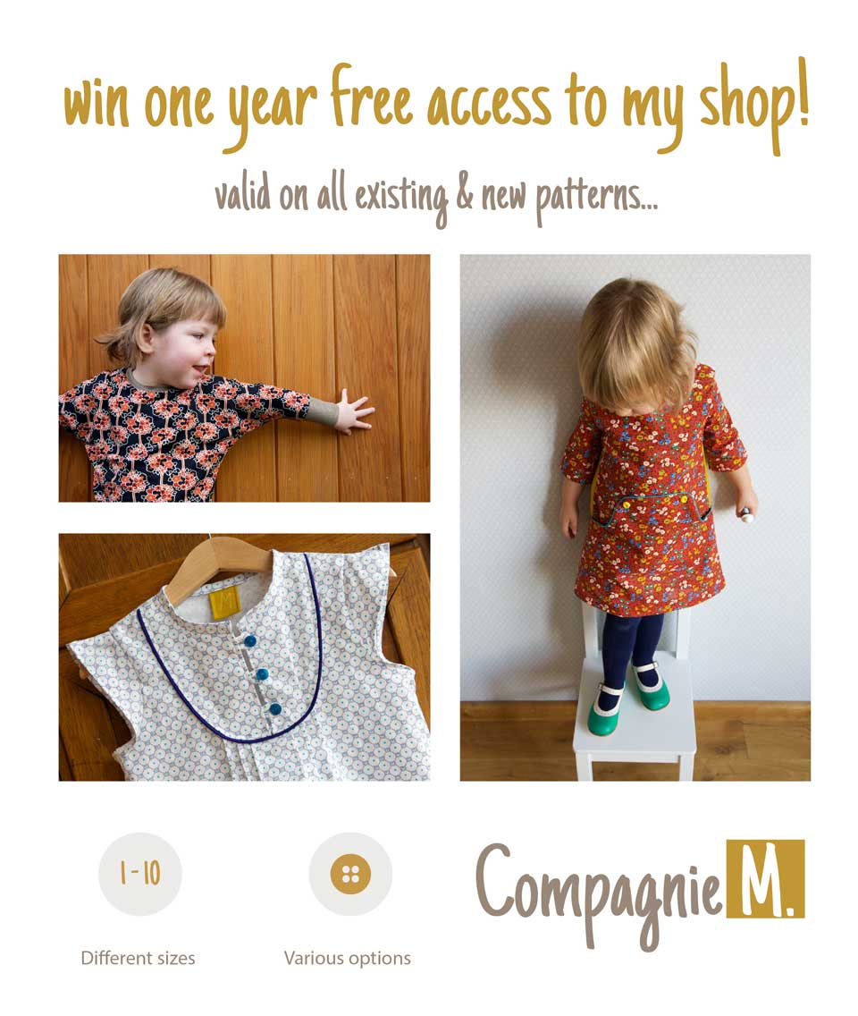Win 1 year free access to my shop!