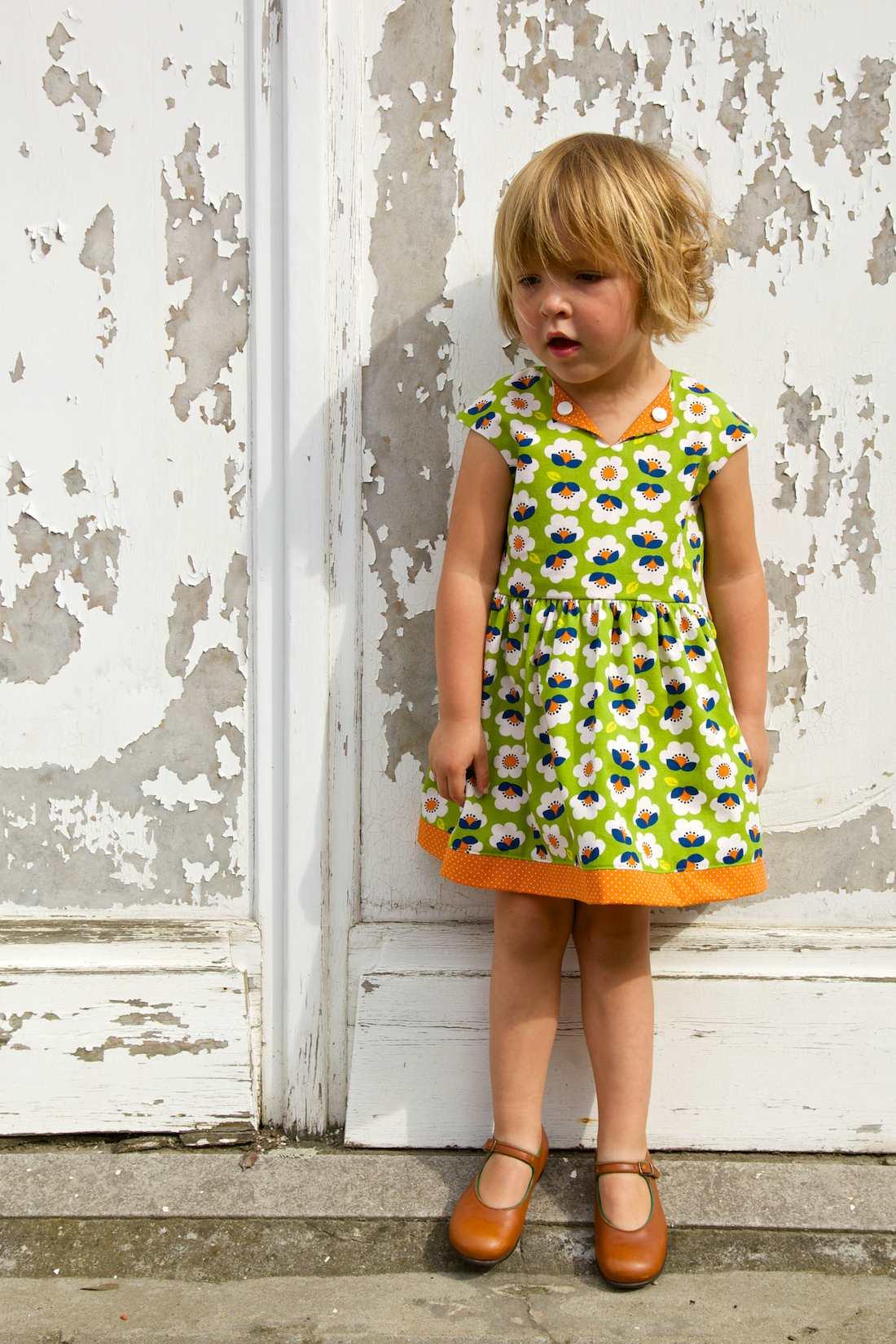 A vintage style Lotta dress!