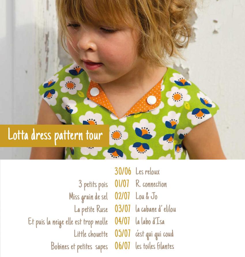 Pattern launch: French Lotta dress