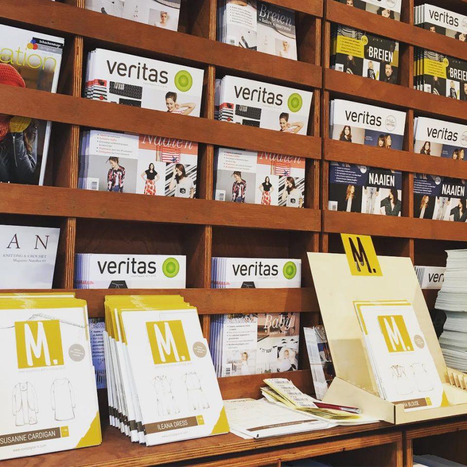 Our display in the new popup store atelierveritas in Antwerp!hellip