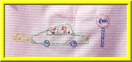 3.borduursel van de achterzijde uitvergroot