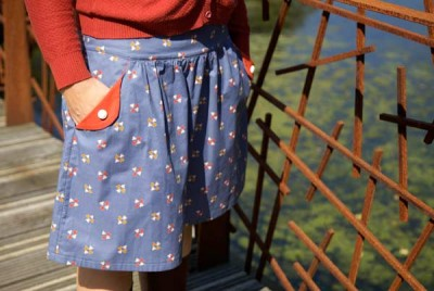 The Lotta skirt pattern for teens & women