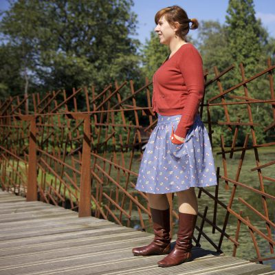 The Lotta skirt pattern by Compagnie M.