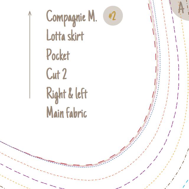 Lotta skirt detail instructions