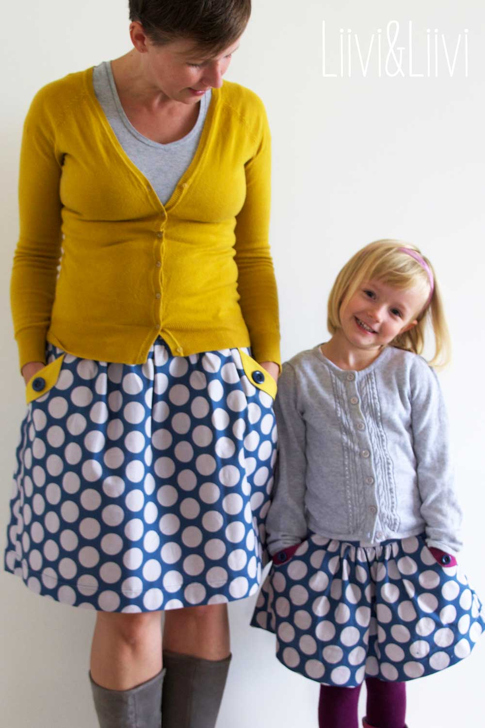 The Lotta skirt in French & German!