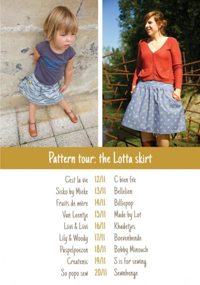 Compagnie M. Lotta skirt pattern tour overview