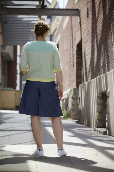 The Nina skirt & culottes sewing pattern by Compagnie M.