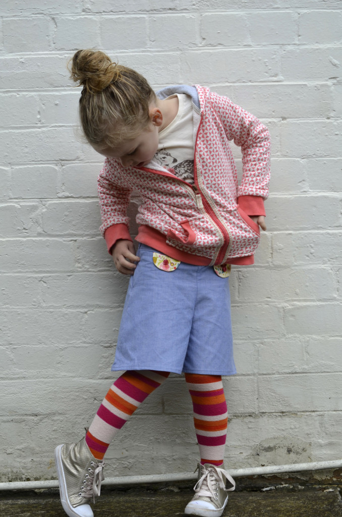 Pattern launch: Nina skirt and culottes for girls