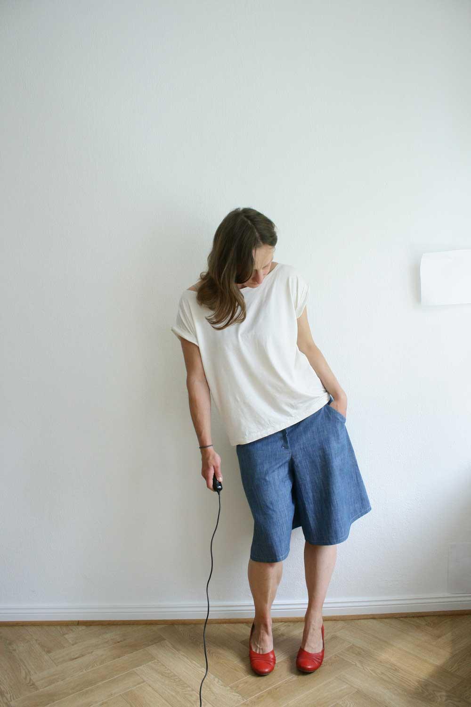 Compagnie-M_Nina_skirt_culottes_frau_gold