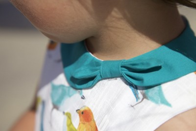 Compagnie M. Ileana dress bow collar