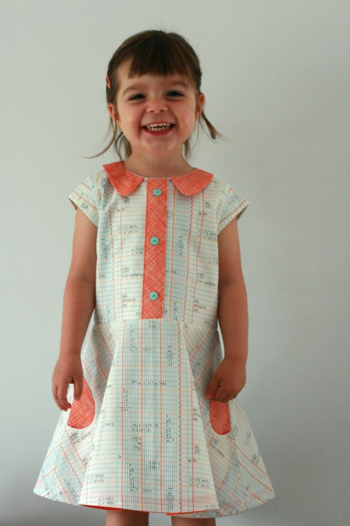 Iliana dress pattern tour day 9