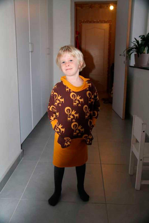 Mix & match Julia Sweater & Nina skirt