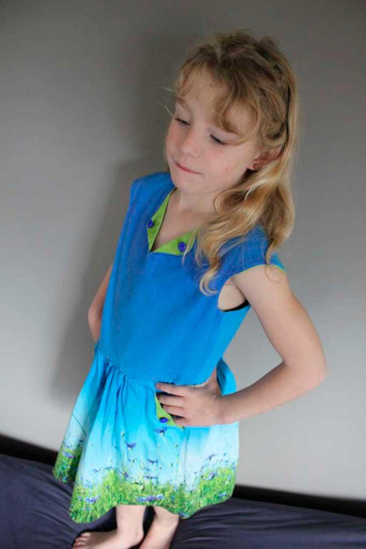 Zomerse Lotta-jurk