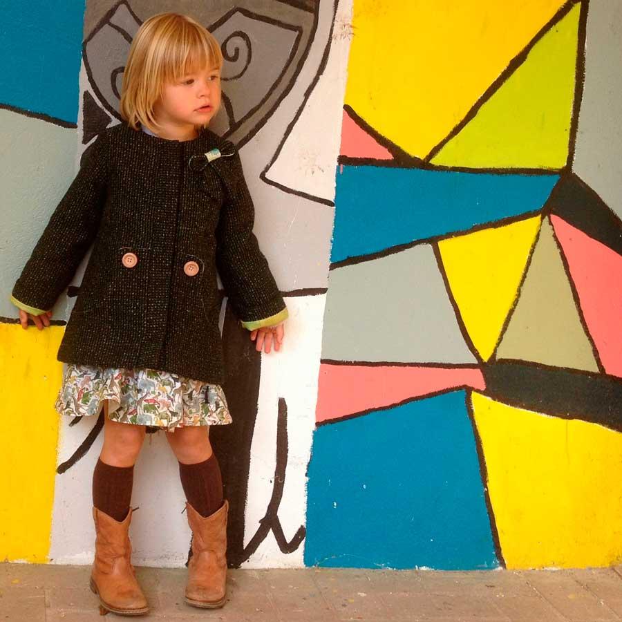 Louisa coat (Louisa mantel)