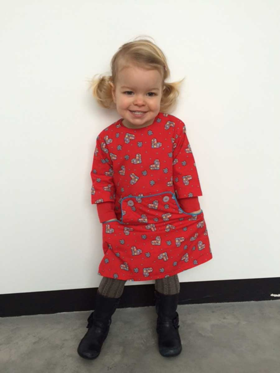 Louisa dress sweetheart
