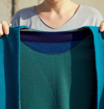 The Suzanne Cardigan sewing pattern for teens and women