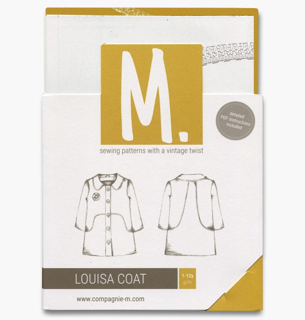 The Louisa Coat paper sewing pattern by Compagnie M.