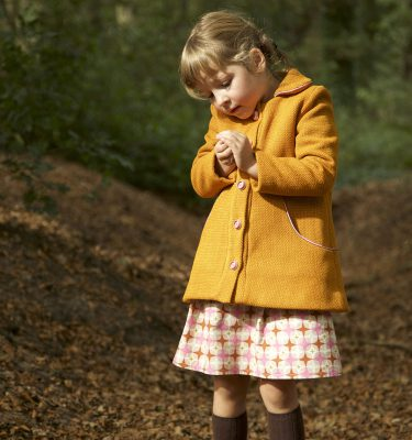 The Louisa coat sewing pattern by Compagnie M. is a versatile winter coat with lots of options.