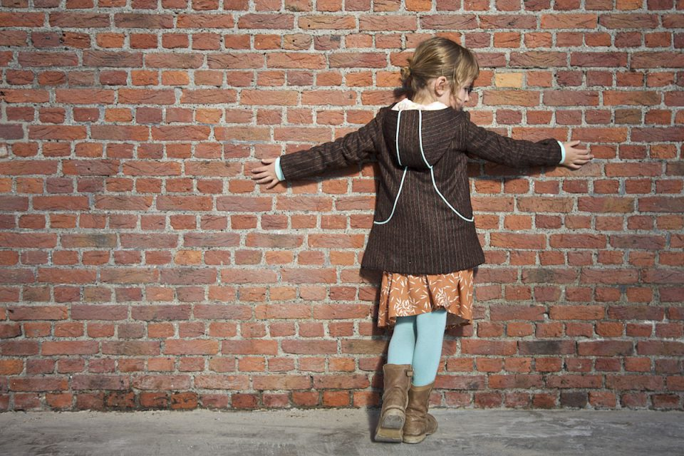 The Louisa Coat sewing pattern for kids by Compagnie M.