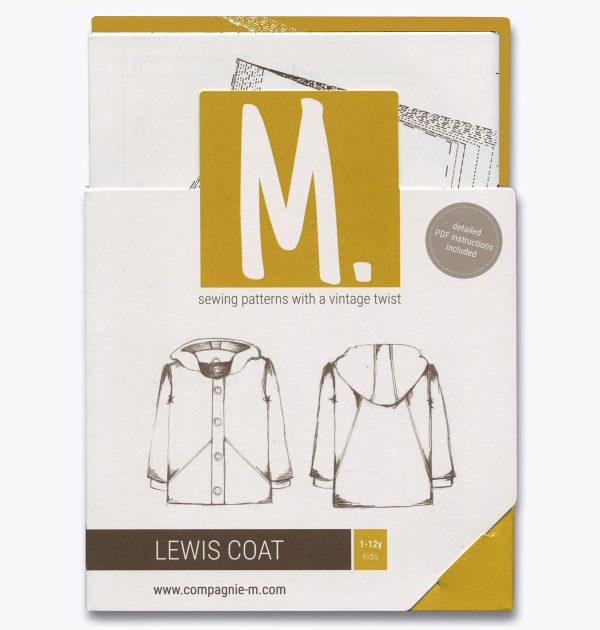 Compagnie M. Lewis Coat paper pattern