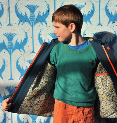 Compagnie M. Lewis coat sewing pattern
