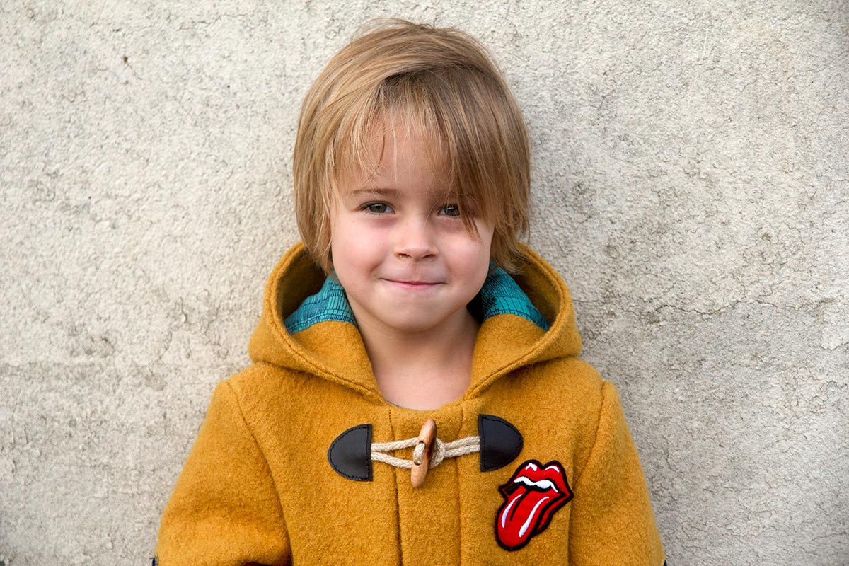 Pattern launch: the Lewis winter coat for boys