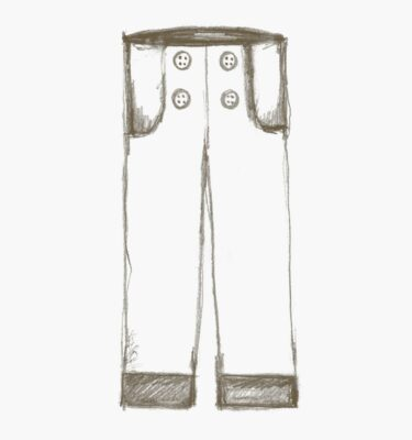 The Charles Pants sewing pattern for kids