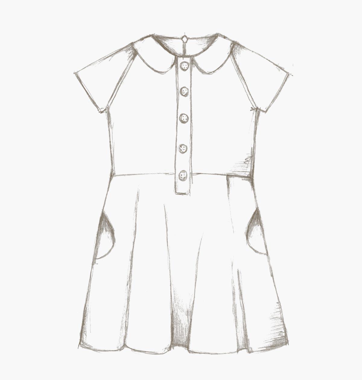 The Ileana Dress (children) pdf sewing pattern