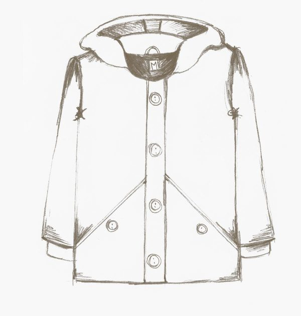 The Lewis Coat for boys sewing pattern