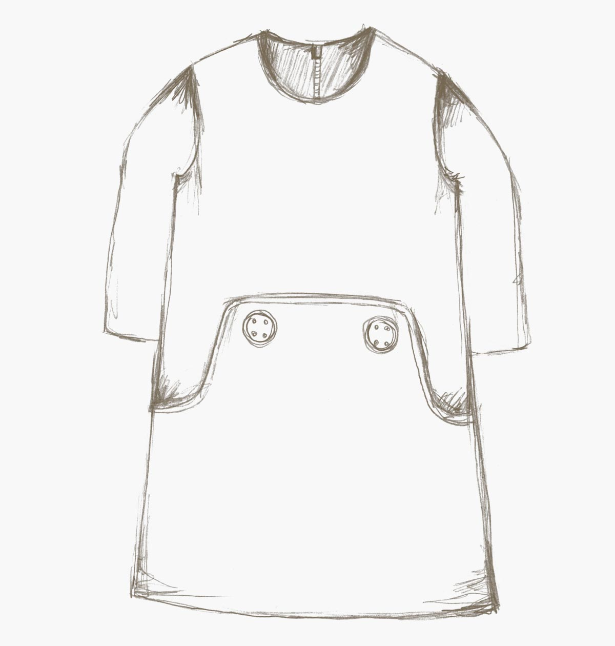 dress form pdf sewing pattern