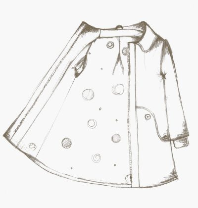The Louisa coat for kids sewing pattern