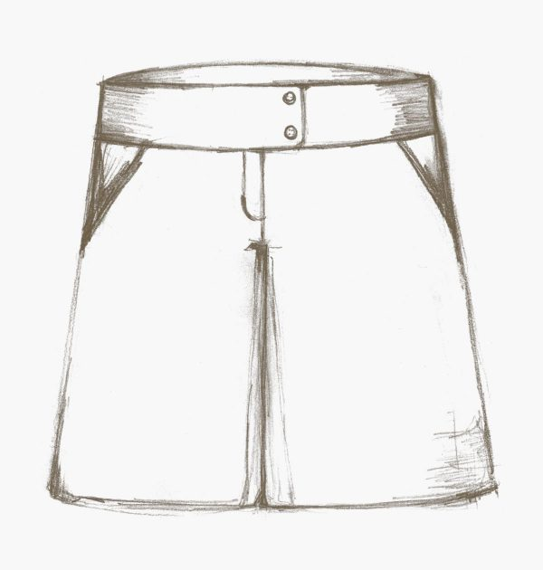 The Nina skirt and culottes sewing pattern