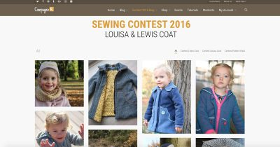 Compagnie M. Sewing contest 2016 blog