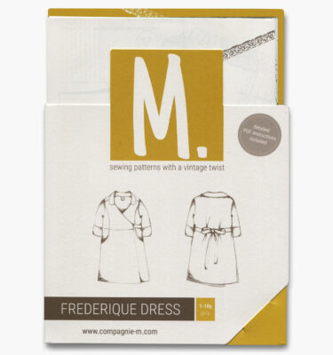 Compagnie M. Frederique Dress paper sewing pattern