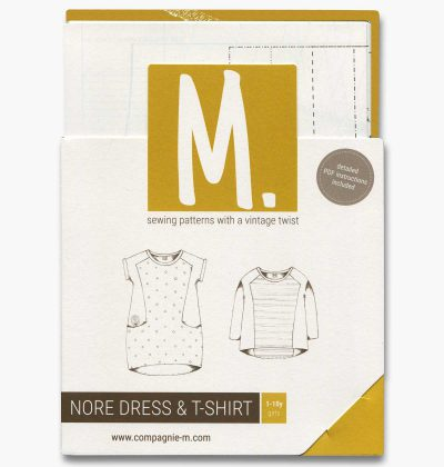 Compagnie M. Nore Dress sewing pattern for kids