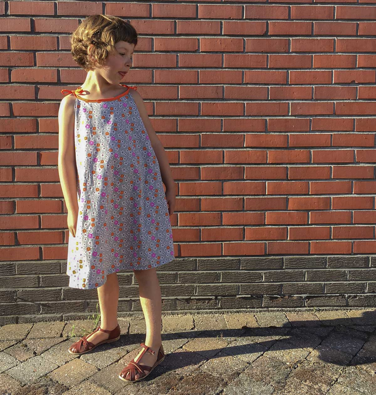 This Is A True Vintage Inspired Pattern Did You Have One Of These When Where Small I The Dolores Dress Super Easy To Sew