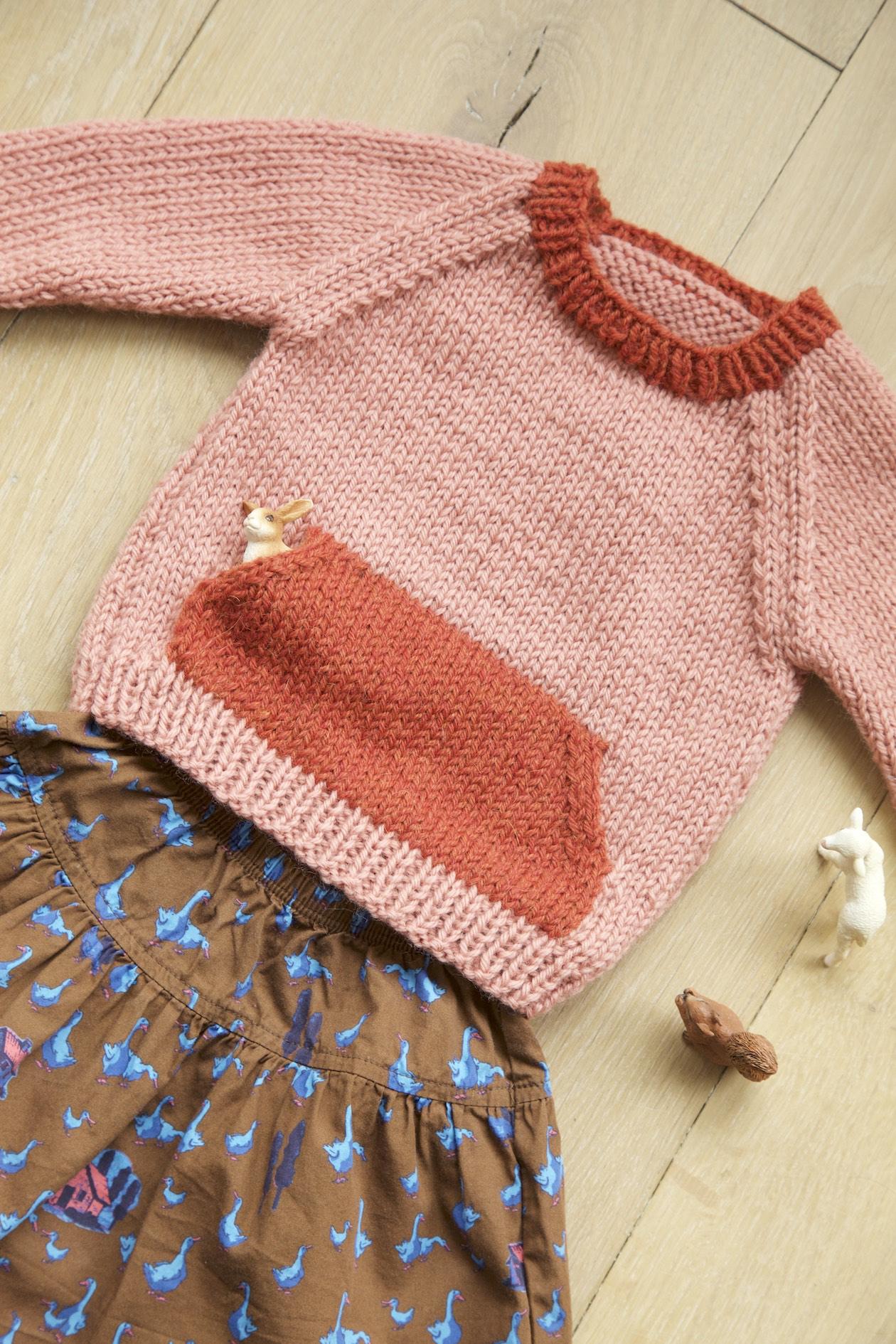 The Quokka sweater knitting pattern: a customised knitting pattern ...