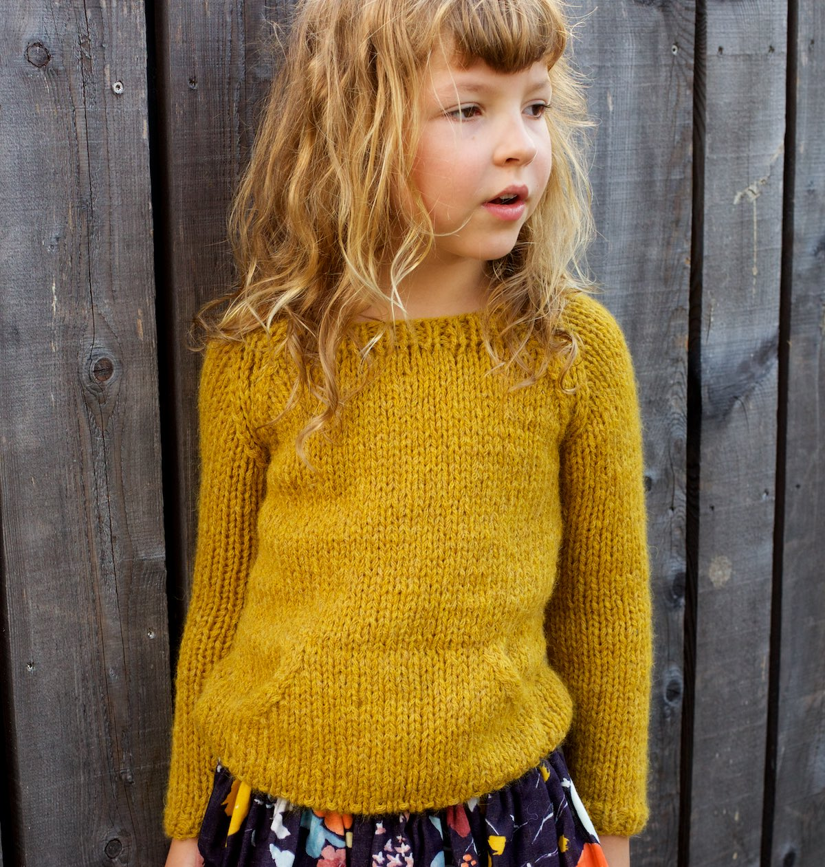 Quokka Sweater Knitting Pattern For Kids Compagnie M