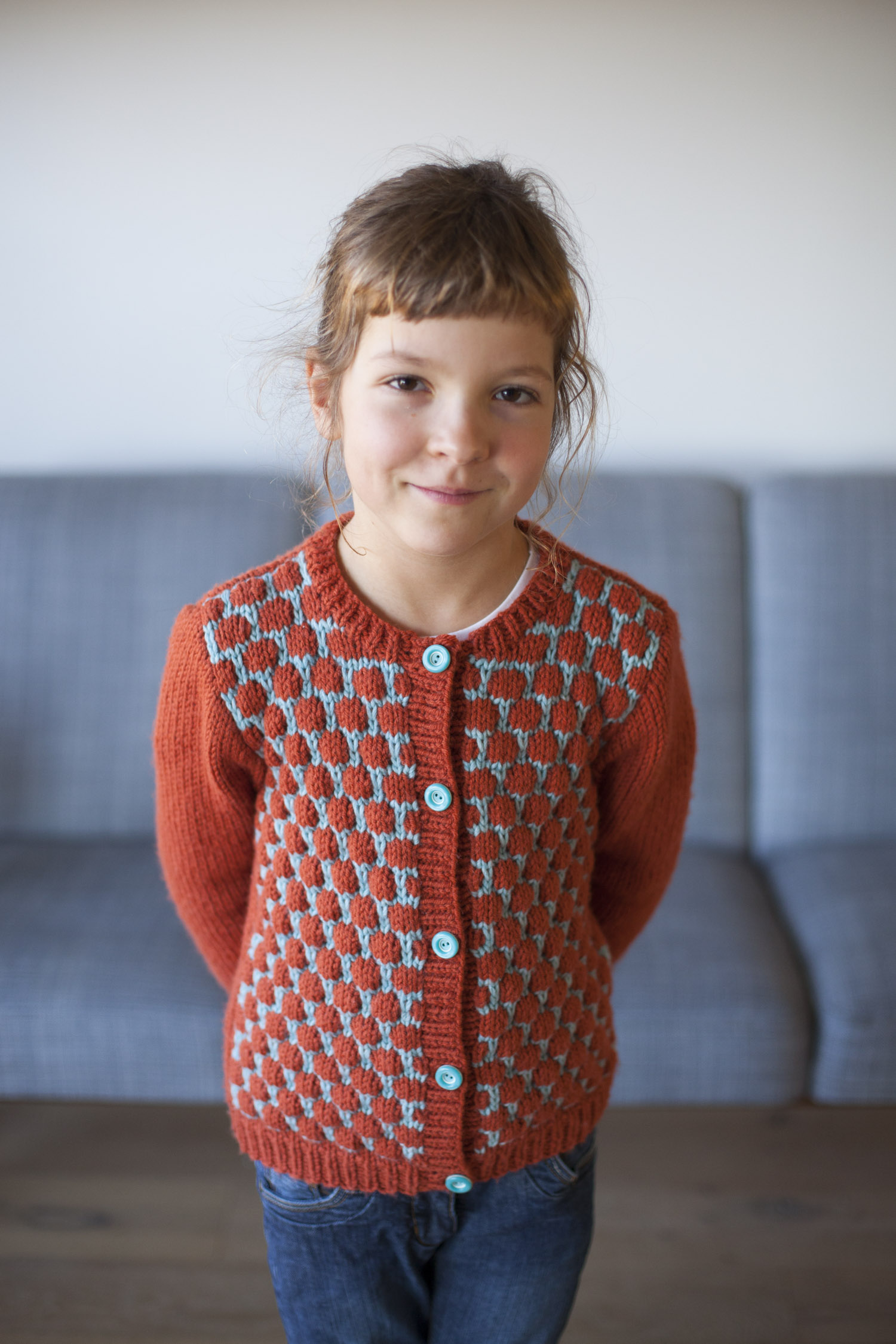 The Dadirri cardigan: the intro of a new knitting pattern | Compagnie-M